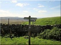 SD8283 : Pennine  Bridleway  meets  Pennine  Way by Martin Dawes
