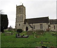 ST6976 : St Thomas à  Becket church, Pucklechurch by Jaggery