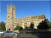 ST6390 : The Church of St Mary at Thornbury by Peter Wood