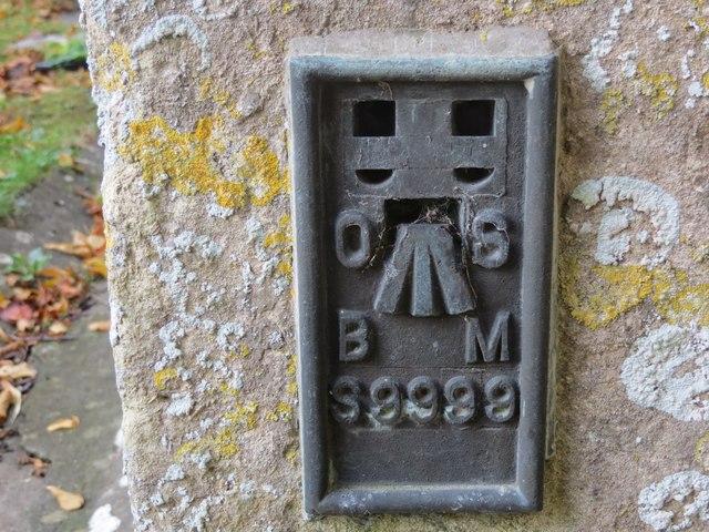 Ordnance Survey Flush Bracket S9999