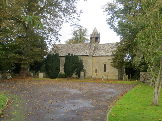 The Church of St Mary in Acton Turville