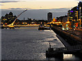 O1734 : The Samuel Beckett Bridge by David Dixon