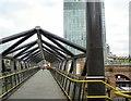 SJ8397 : Deansgate-Castlefield footbridge by Gerald England