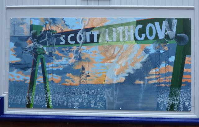 Port Glasgow railway station murals