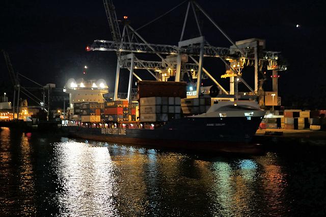 Port of Dublin South Quays Container Terminal
