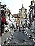 TQ9220 : Lion Street, Rye by Philip Halling