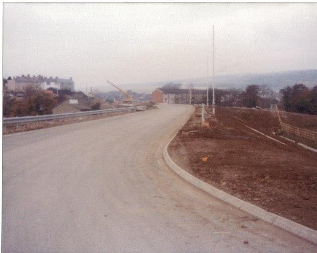 Aberkenfig and new bypass November 1980