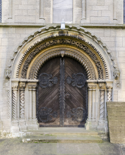 West Door, St Helen's church, Thorney