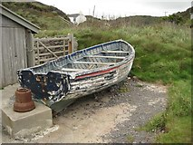 SS1800 : Old rowing boat by Philip Halling