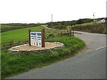 SS1900 : Entrance to Penhalt Farm Holiday Park by Philip Halling