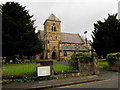 SO8963 : Yews and church, Droitwich by Jaggery