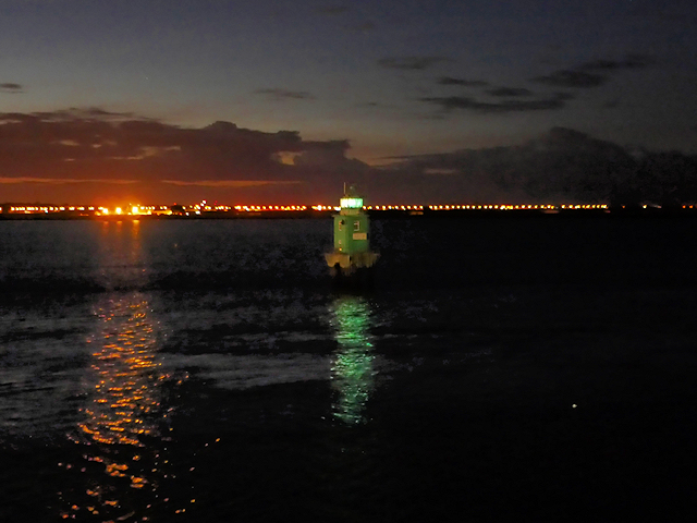 Dublin Harbour, North Bank Lighthouse