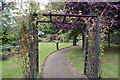 NH6669 : Millennium Garden, Alness by Richard Dorrell