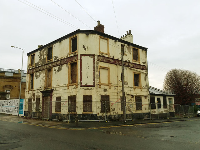 8badf669 The former Wakefield Arms © Stephen Craven cc-by-sa/2.0 :: Geograph ...