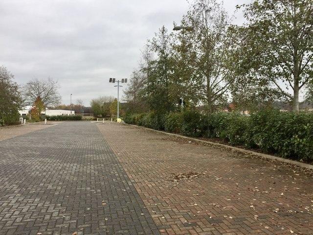 Newcastle-under-Lyme College car park