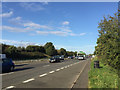 SP3274 : A46 southbound near King's Hill by Robin Stott