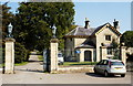 ST8082 : Kennel Drive Lodge, Badminton, Gloucestershire 2011 by Ray Bird