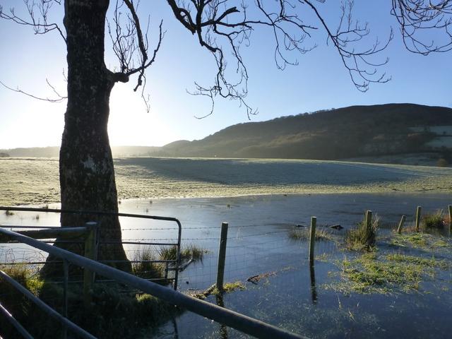 Icy pond, Gortin
