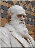 TQ2679 : Sculpture of Charles Darwin by Richard Sutcliffe