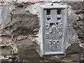 SO4219 : Ordnance Survey Flush Bracket 790 by Peter Wood