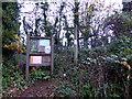 SX9371 : South West Coastal Path Sign by PAUL FARMER
