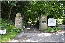 TQ4945 : Chiddingstone Castle entrance by N Chadwick