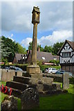 TQ5045 : War Memorial, Church of St Mary by N Chadwick