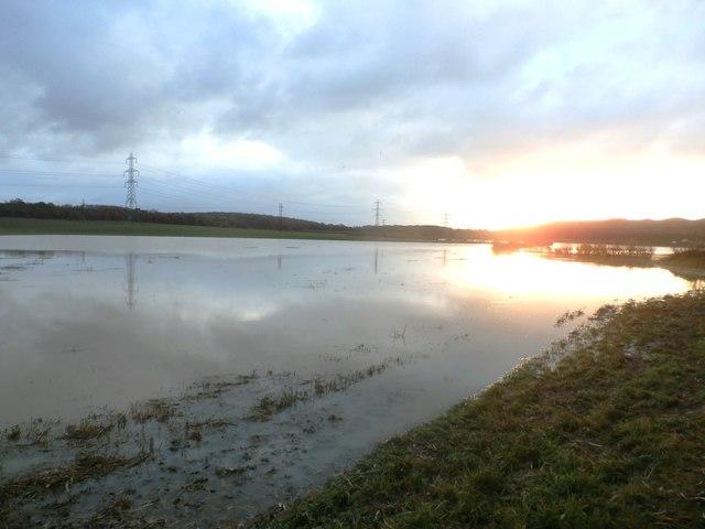 Flood Plain near South Elmsall
