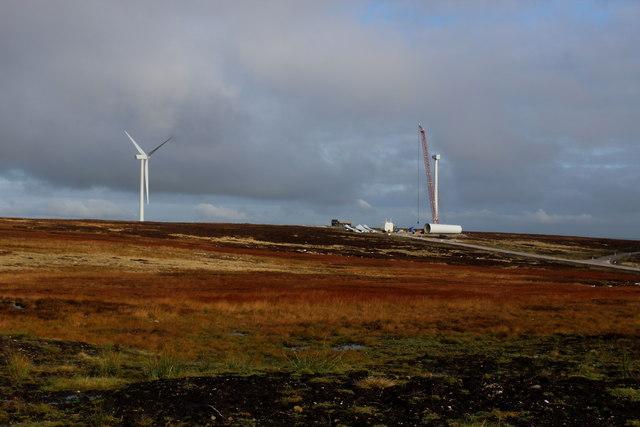 Wind Turbines on Ovenden Moor