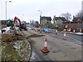 H4672 : Road works, Hospital Road, Omagh (3) by Kenneth  Allen