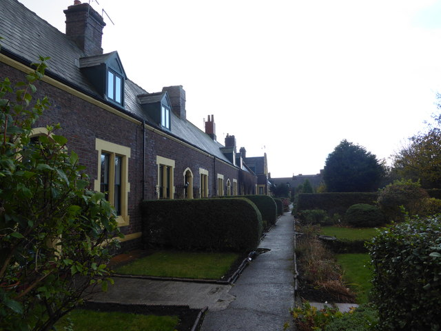 Mariner's Cottages, South Shields