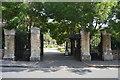 TQ2886 : Entrance, Highgate eastern Cemetery by N Chadwick