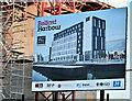 J3474 : City Quays hotel site, Belfast - November 2016(3) by Albert Bridge