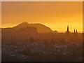 NT2274 : Edinburgh Sunrise by Anne Burgess