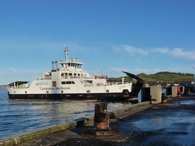 MV Loch Shira by Raibeart MacAoidh