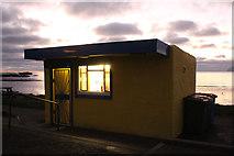 NX1896 : Snack Bar, Ainslie Park, Girvan by Billy McCrorie