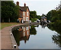 SO8693 : Lock keepers cottage at Bratch Top Lock No 25 by Mat Fascione