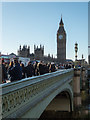 TQ3079 : Looking across Westminster Bridge, London SE1 by Christine Matthews