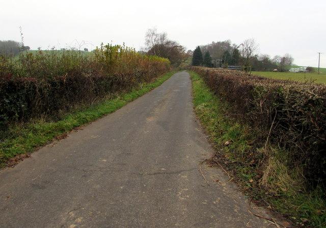 West towards Llwyncelyn, Monmouthshire