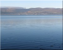 J1316 : The village of Omeath, Co Louth seen across Carlingford Lough from Rostrevor, Co Down by Eric Jones