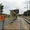 SJ8386 : Peel Hall Tram Stop by Gerald England