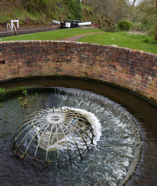 Circular Overflow, Staffordshire and Worcestershire Canal