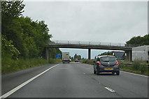 TQ8959 : Ruins Barn Road Bridge, M2 by N Chadwick