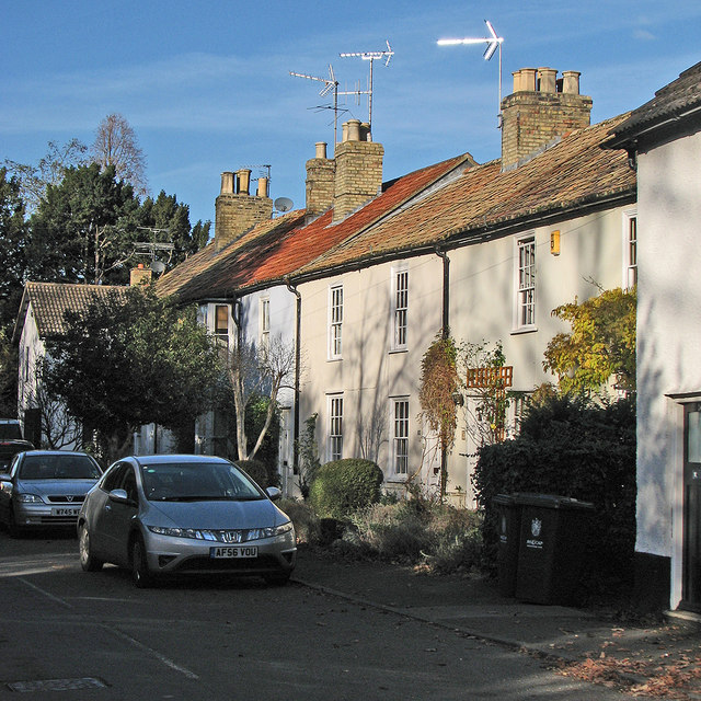 Little Shelford: High Street cottages