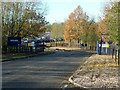 SK7220 : Entrance to Asfordby Business Park by Alan Murray-Rust