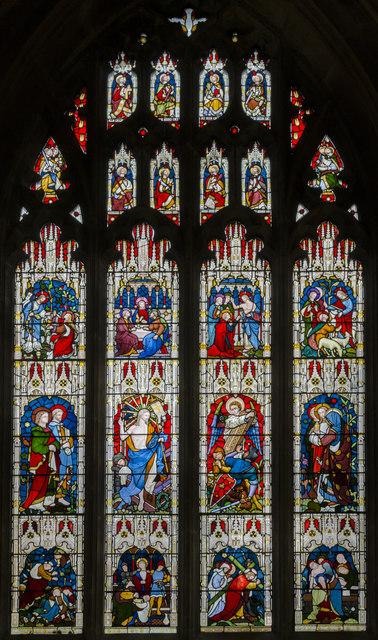 Stained Glass Window Peterborough 169 Julian P Guffogg