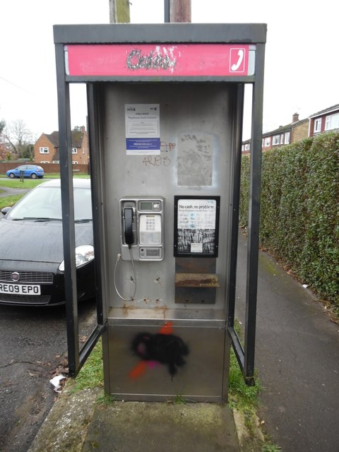 Former Telephone Kiosk in Prestwood