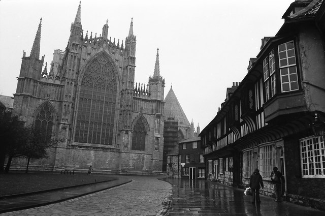 York Minster and St William's College