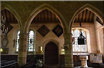 TQ5045 : Church of St Mary - interior by N Chadwick