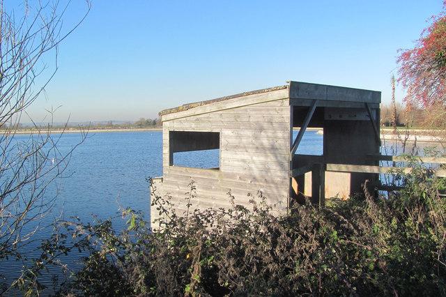 The Bird Hide at Startops Reservoir